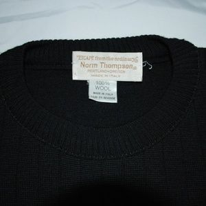 Norm Thompson wool sweater